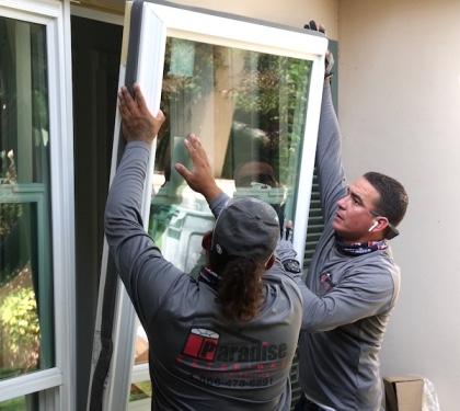 Florida window installation